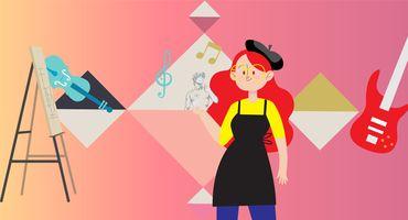الفنون والتصميم والموسيقى - Arts, Design, and Music