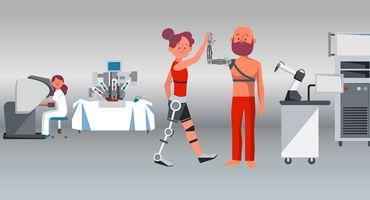 الأطراف الاصطناعية والأجهزة المساعدة - Orthotics and Prosthetics