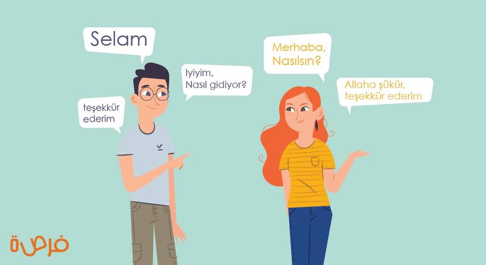 تعلم اللغة التركية بالعربية   جمل تسخدم في الحياة اليومية