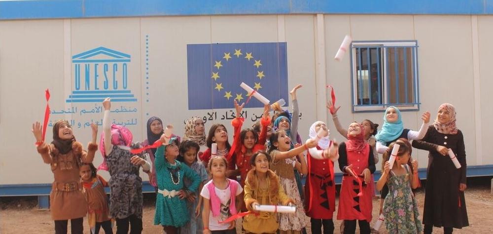 ما هي فرص التعليم المتاحة للسوريين في الأردن