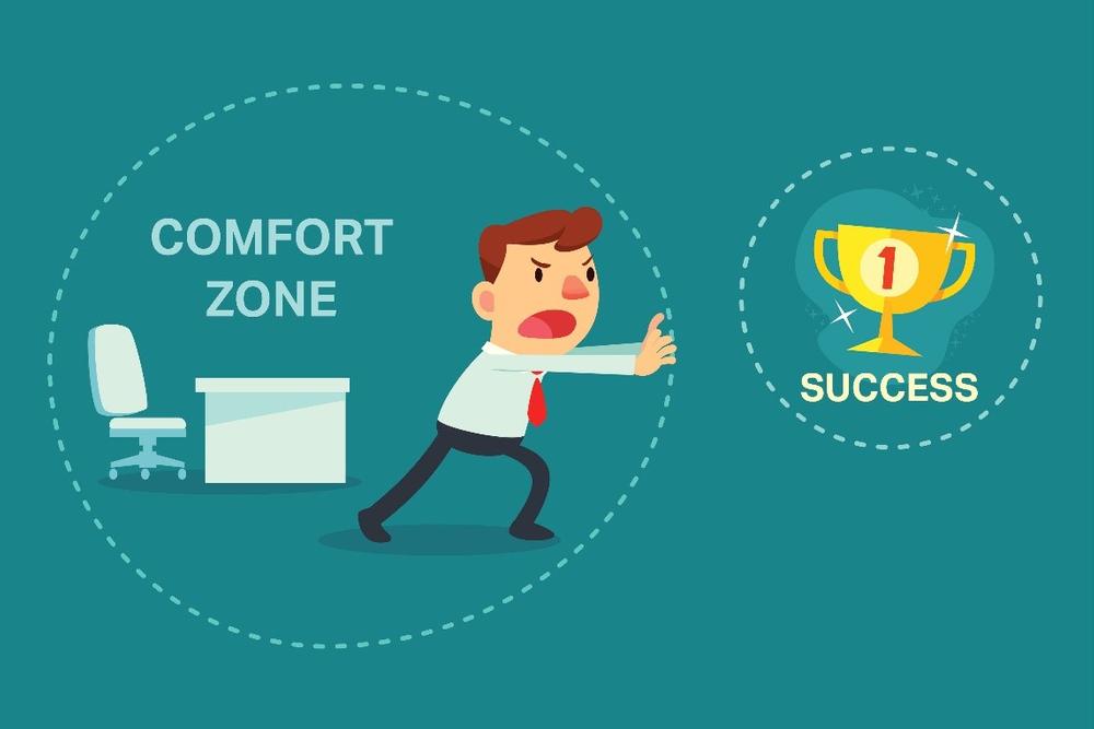 ما هي منطقة الراحة وكيف تخرج منها   Comfort Zone؟