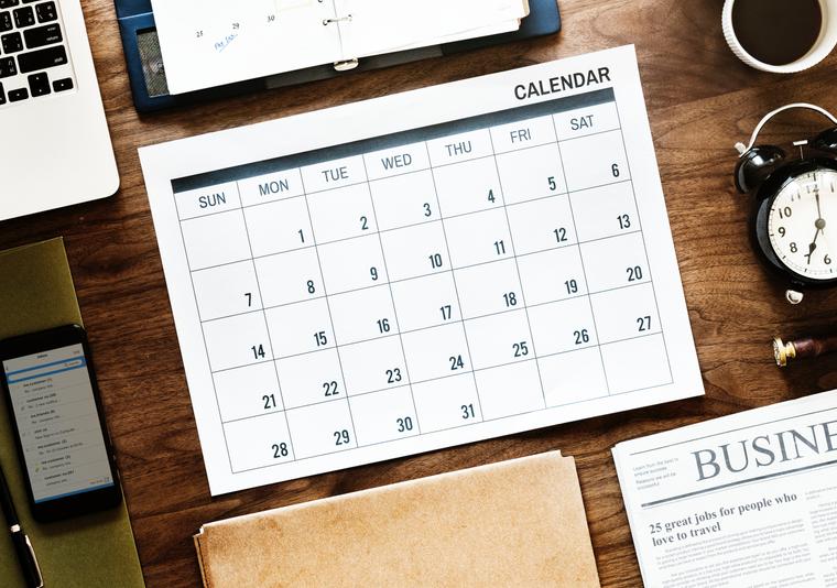 جدول نشر المحتوى