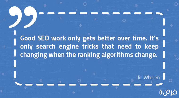 Good SEO work only gets better over time. It's only search engine tricks that need to keep changing when the ranking algorithms change
